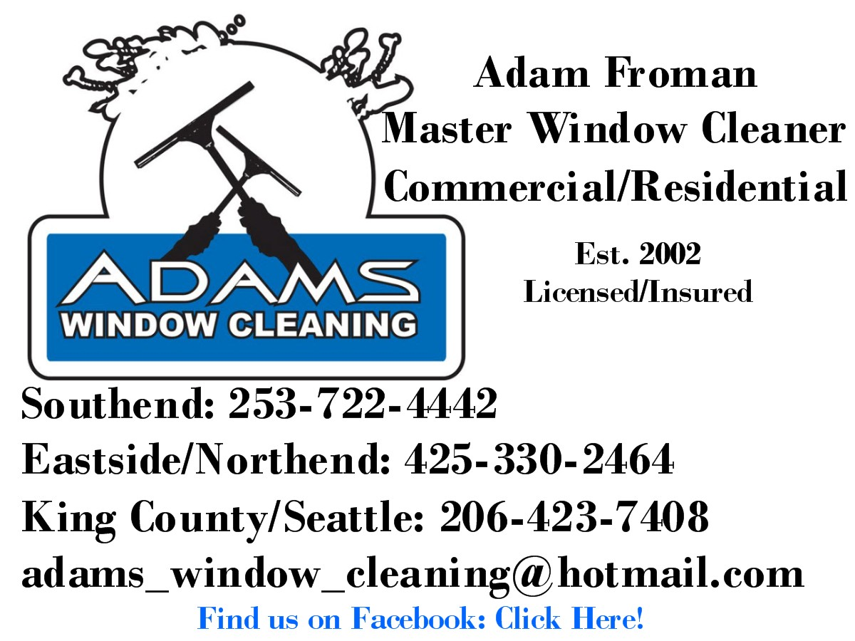 Adams Window Cleaning Logo